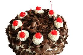 black forest gat. with cherries